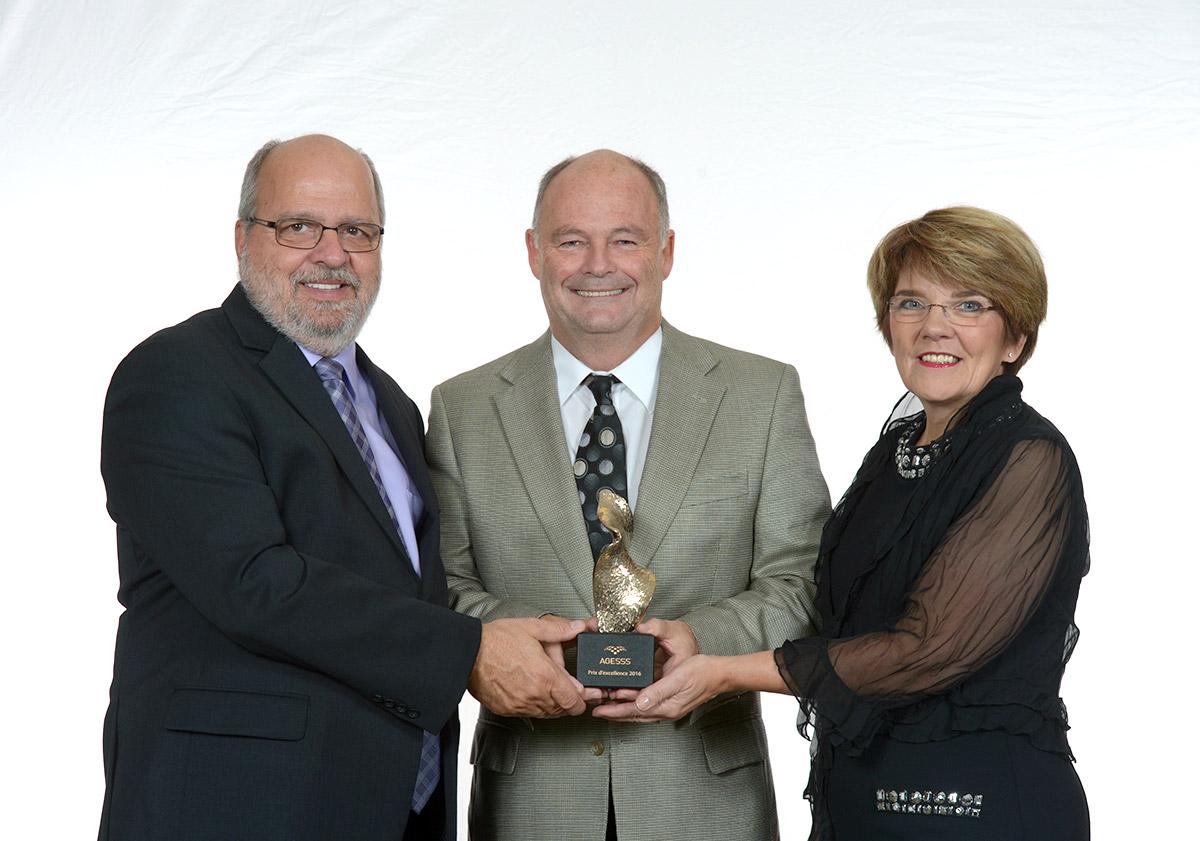 Prix d'excellence pour Bernard Lachance