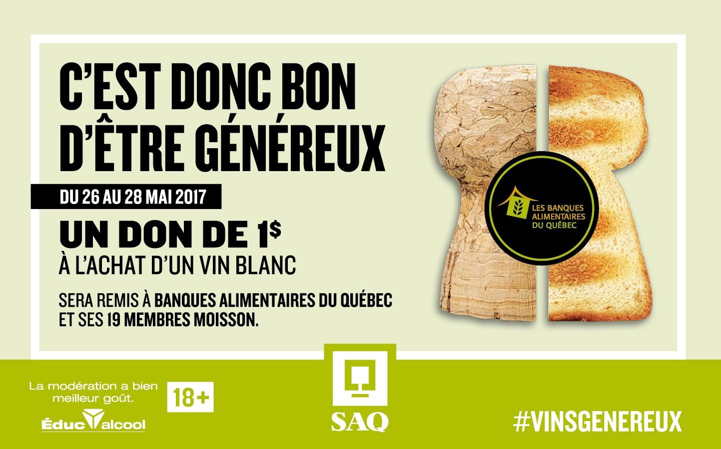 Campagne SAQ des Vins généreux