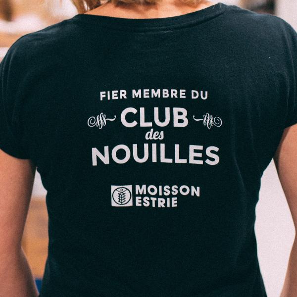 T-shirt Club des nouilles